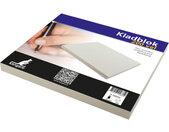 kladblok 6,75 x 11 cm papier grijs 200 vellen