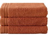 badhanddoeken Imagine 100 cm katoen oranje 3 st