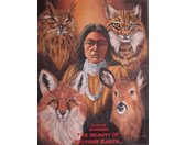 poster mother earth junior 40x50 cm papier