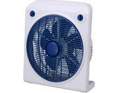 ventilator 220-240v 50hz 40w 50 x 25 cm wit/blauw
