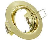 inbouwspot Jura 8 x 7 cm staal goud