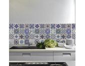 Walplus Muur Decoratie Sticker Spaanse Blauwe Tegels