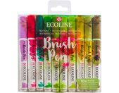 markeerstiften Ecoline Brush Pen Botanic 10 stuks