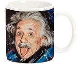 mok Albert Einstein 470 ml keramiek wit