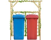 vidaXL Pergola voor 2 containers geïmpregneerd grenenhout