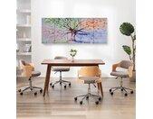 vidaXL Wandprintset regenboom 200x80 cm canvas meerkleurig