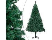 vidaXL Kunstkerstboom met dikke takken 180 cm PVC groen