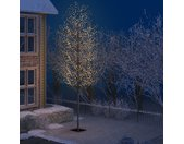 vidaXL Kerstboom 2000 LED's warmwit licht kersenbloesem 500 cm