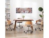 vidaXL Wandprintset boom 120x40 cm canvas meerkleurig