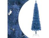 vidaXL Kerstboom smal 180 cm blauw