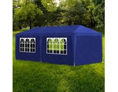 vidaXL Partytent 3x6 m blauw