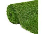 vidaXL Kunstgras 1,33x8 m/40 mm groen