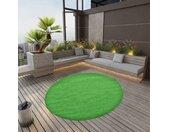 vidaXL Kunstgras met noppen rond 170 cm groen
