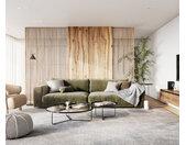 Big-Sofa Feres 290 x 130 fluweel olive