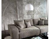 Booglamp Big-Deal XL lounge wit marmer in hoogte verstelbaar