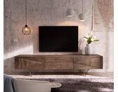 Designer-tv-meubel Wyatt 175 cm acacia bruin 3 laden