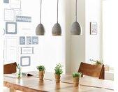 Hanglamp Cirillo 70x15 grijs 3 tinten beton