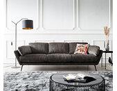 Bigsofa Softy 255x115 Antraciet gebogen armleuning by W. Schillig