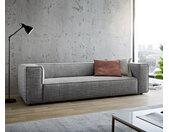 Big-sofa Around the Block 260x105 zwart-wit spring core by W. Schillig