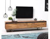 Designer-Tv-meubel Stonegrace 200 cm acacia natuur 4 laden