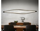 Plafondlamp Gabbiano 178x144x27 cm zwart LED 86W designlamp
